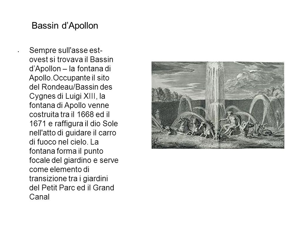 Bassin d'Apollon