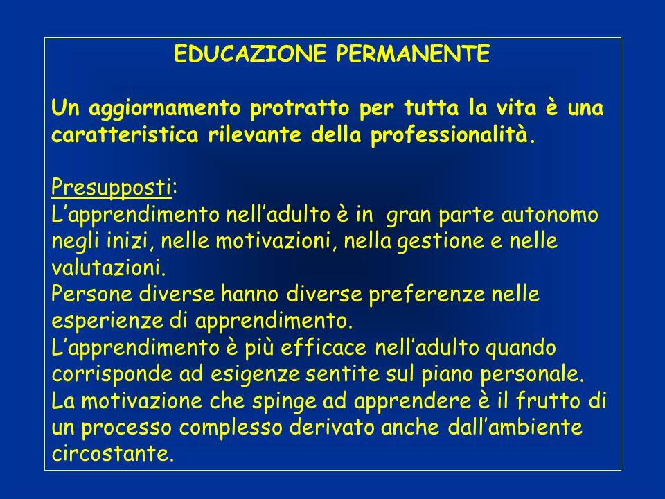 EDUCAZIONE PERMANENTE