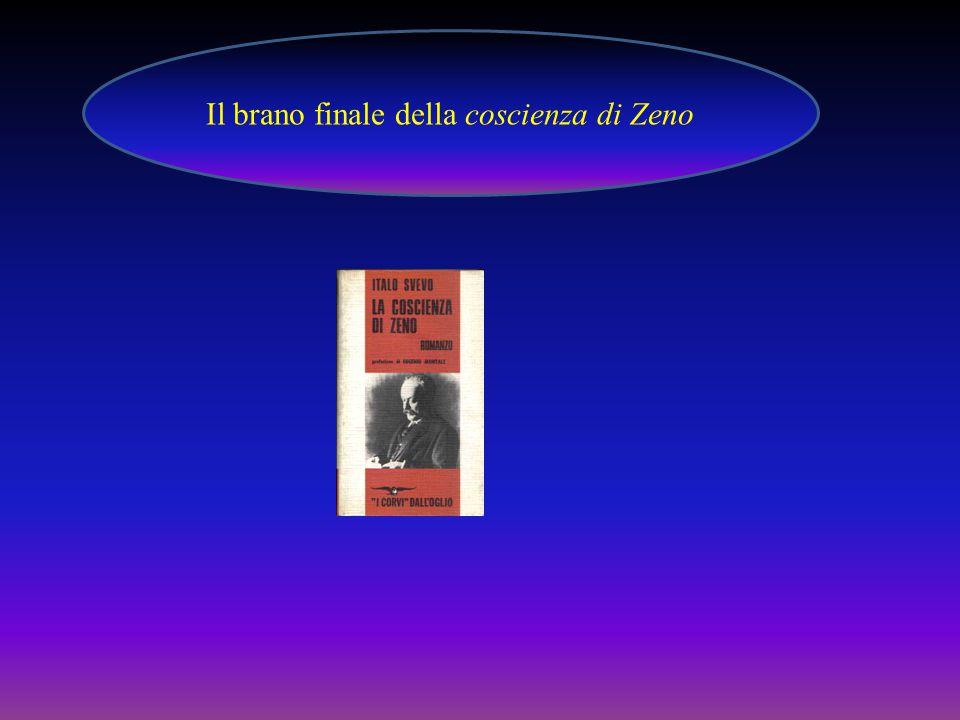 Il brano finale della coscienza di Zeno