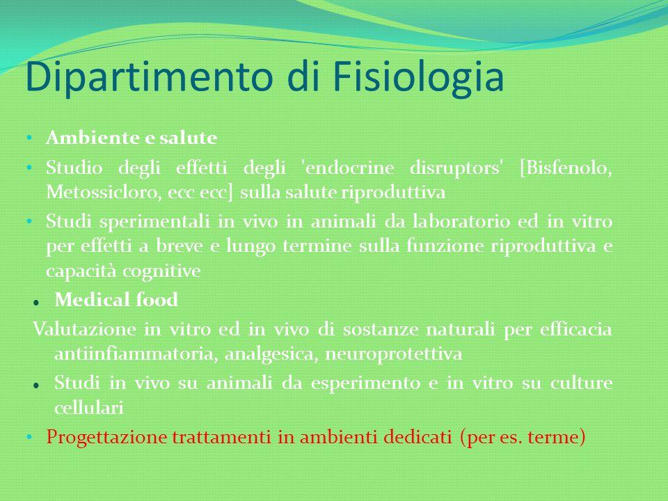 Dipartimento di Fisiologia
