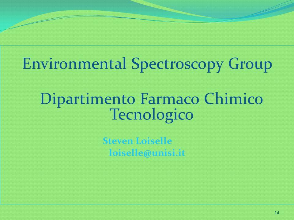 Environmental Spectroscopy Group