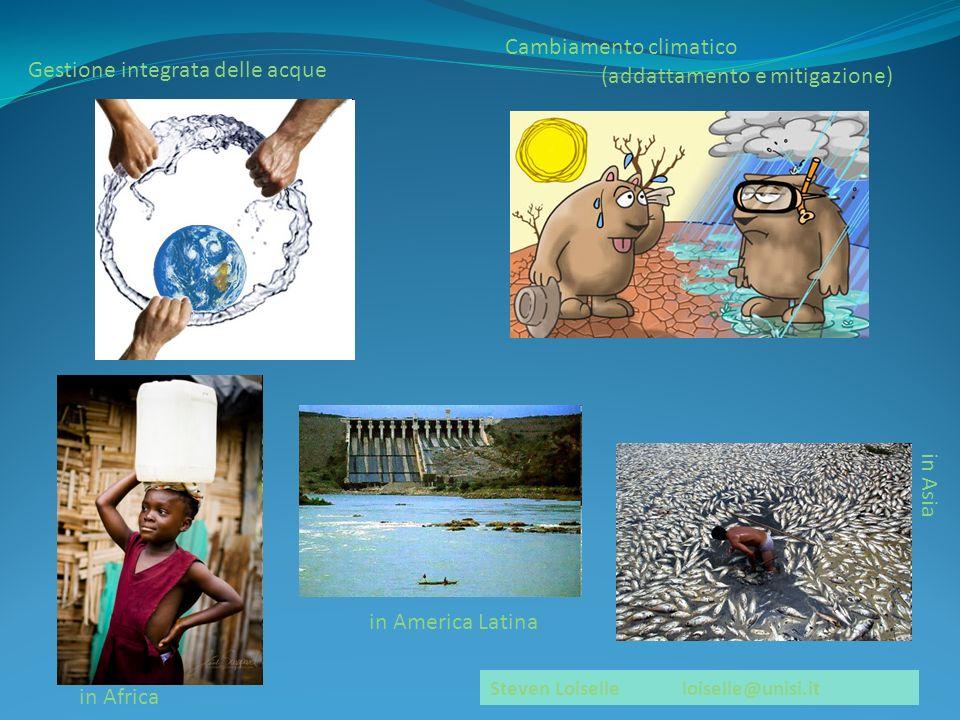 Cambiamento climatico (addattamento e mitigazione)