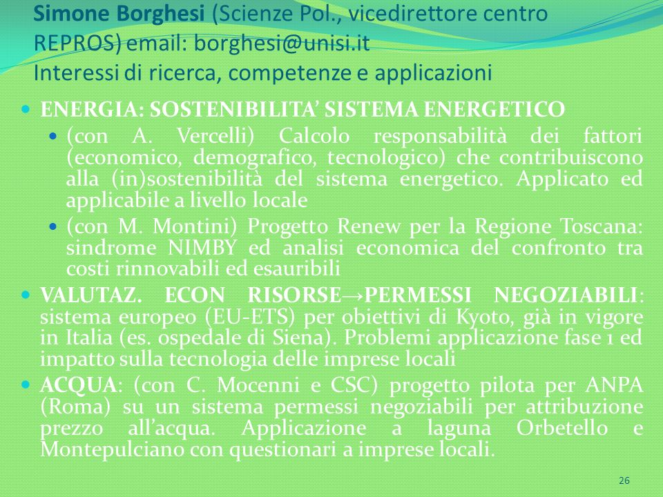 Simone Borghesi (Scienze Pol