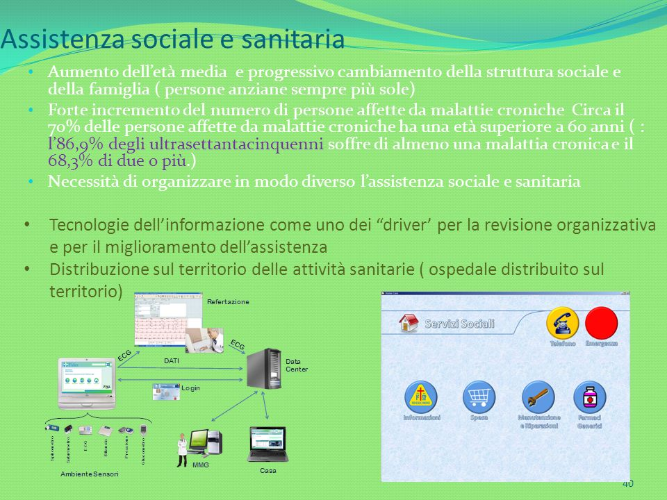 Assistenza sociale e sanitaria