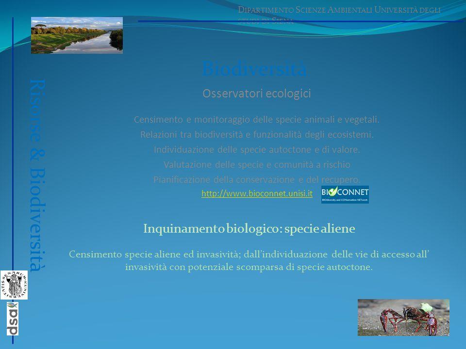 Risorse & Biodiversità