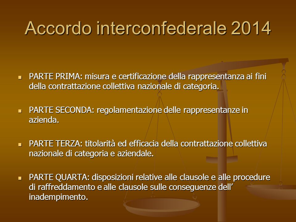 Accordo interconfederale 2014