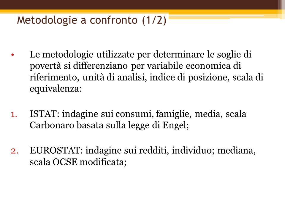 Metodologie a confronto (1/2)