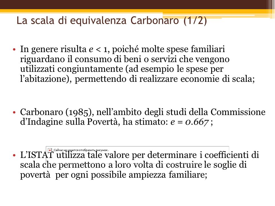 La scala di equivalenza Carbonaro (1/2)
