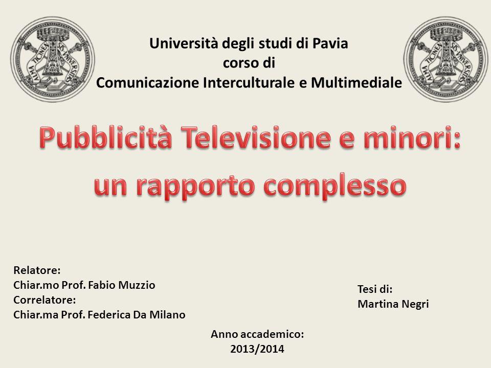 Pubblicità Televisione e minori: un rapporto complesso