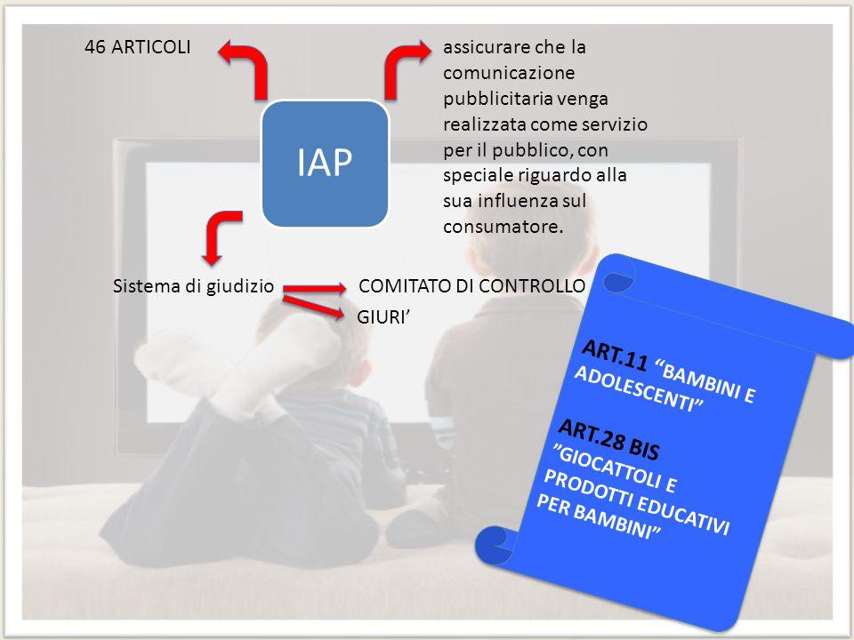 IAP ART.11 BAMBINI E ADOLESCENTI