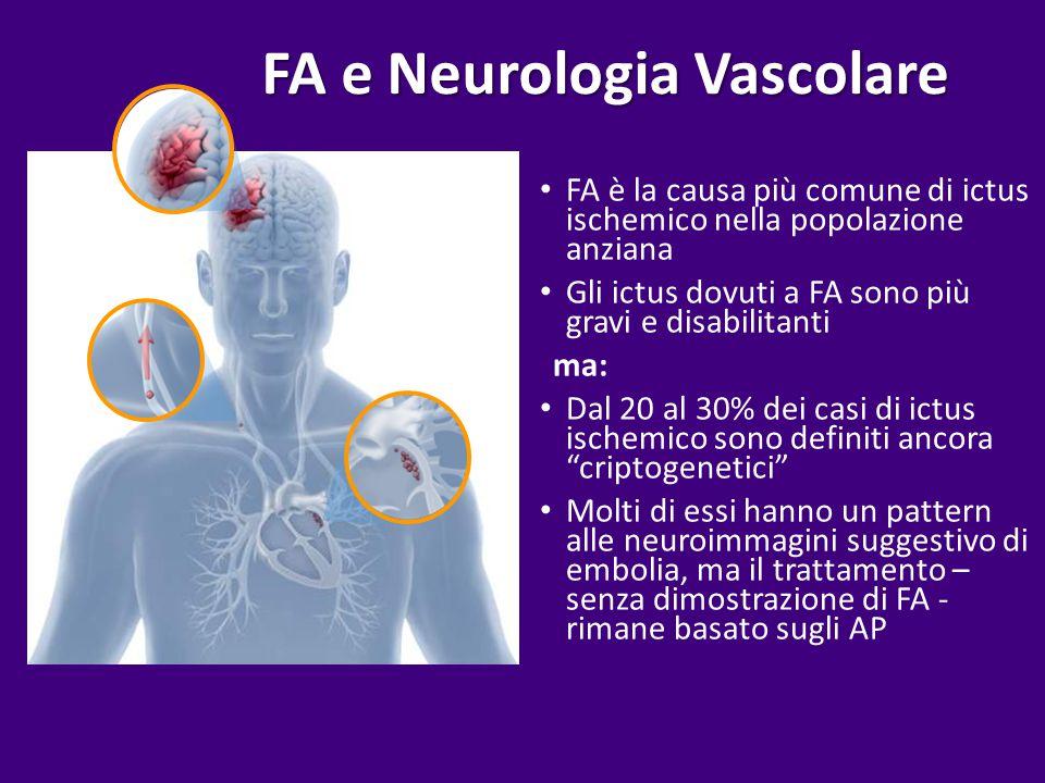 FA e Neurologia Vascolare