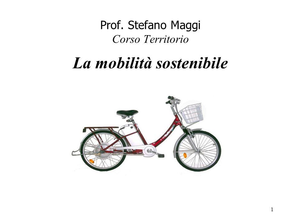 Prof. Stefano Maggi Corso Territorio La mobilità sostenibile