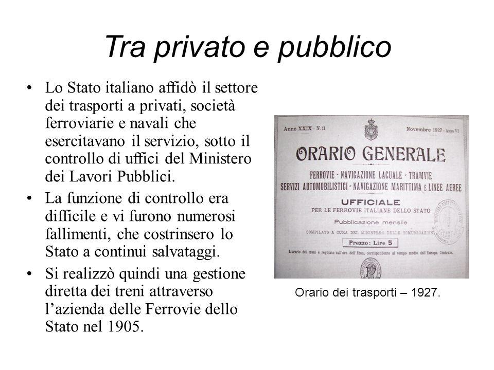 Tra privato e pubblico