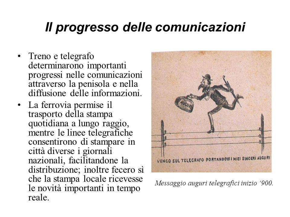 Il progresso delle comunicazioni