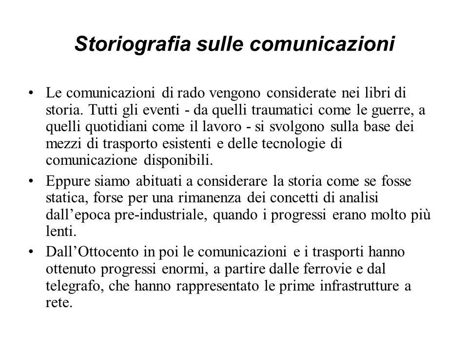 Storiografia sulle comunicazioni