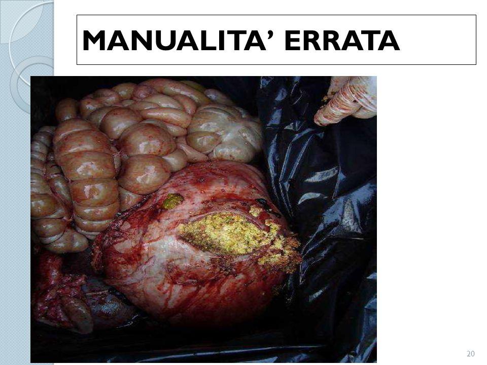 MANUALITA' ERRATA