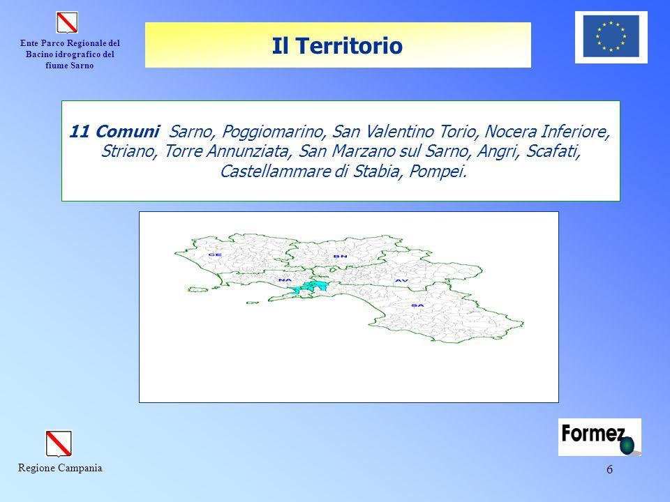 Il Territorio 11 Comuni Sarno, Poggiomarino, San Valentino Torio, Nocera Inferiore,
