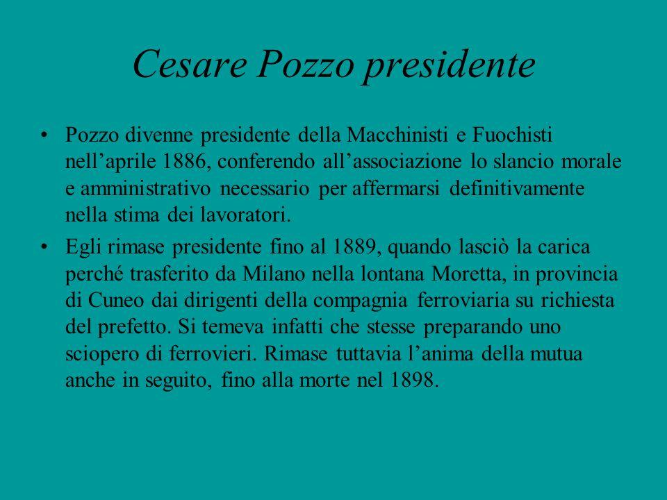 Cesare Pozzo presidente