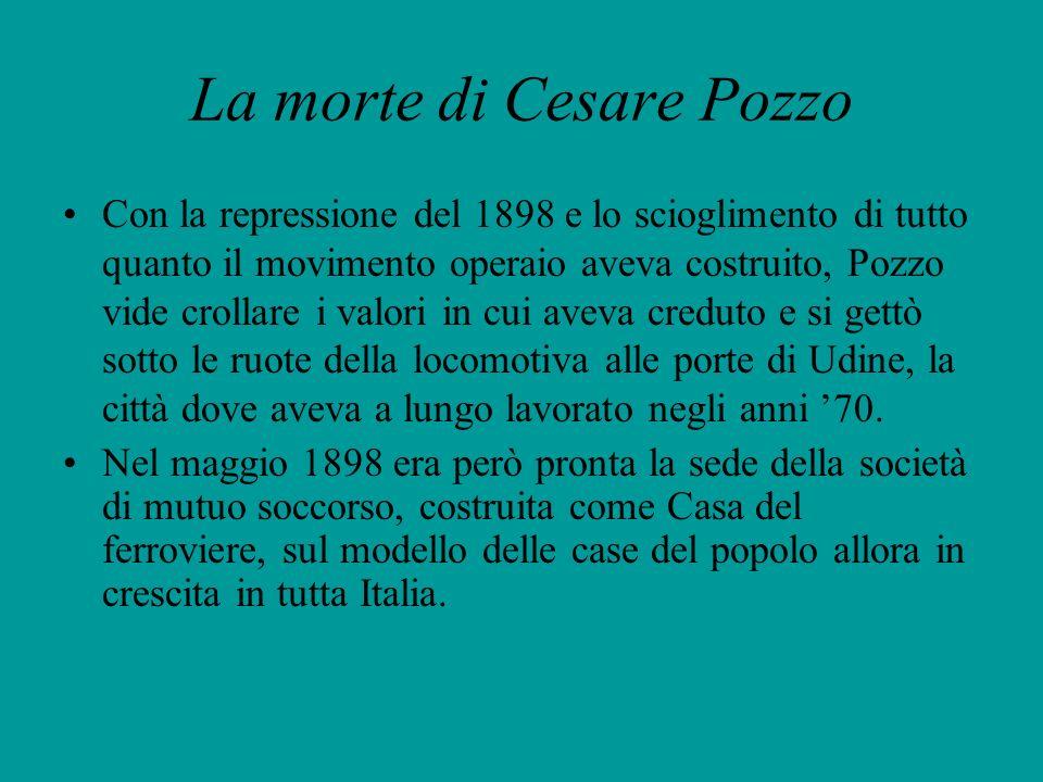 La morte di Cesare Pozzo