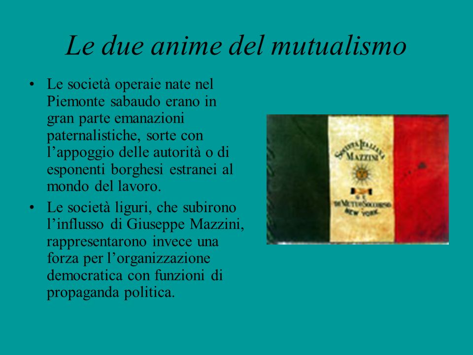 Le due anime del mutualismo