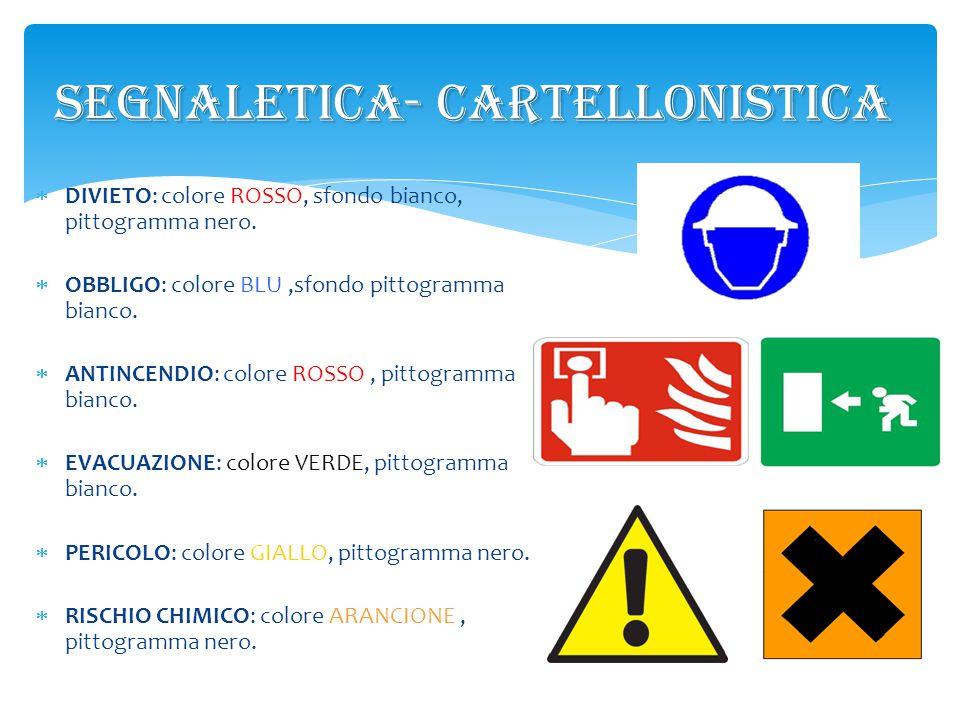 SEGNALETICA- CARTELLONISTICA