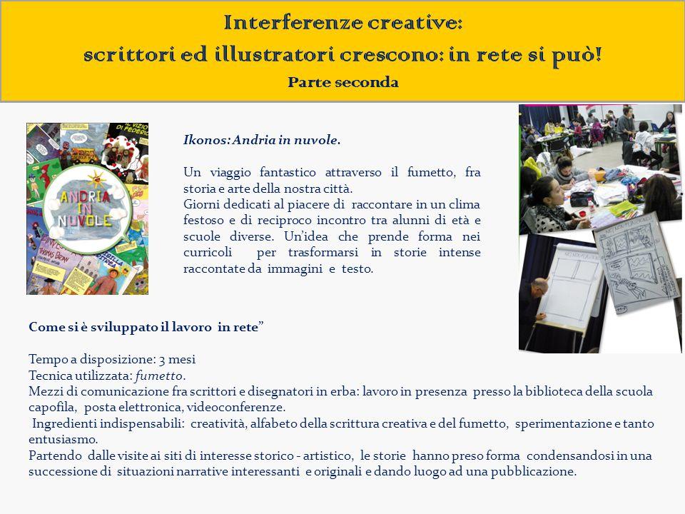 Interferenze creative: scrittori ed illustratori crescono: in rete si può!