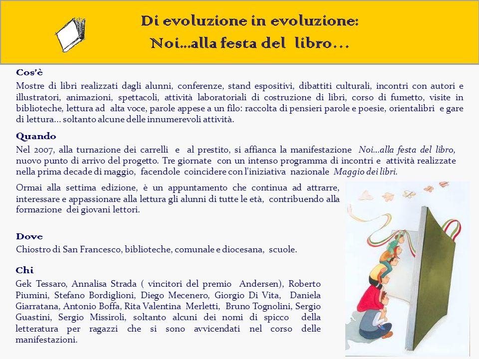 Di evoluzione in evoluzione: Noi...alla festa del libro…