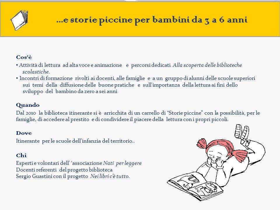 ...e storie piccine per bambini da 3 a 6 anni