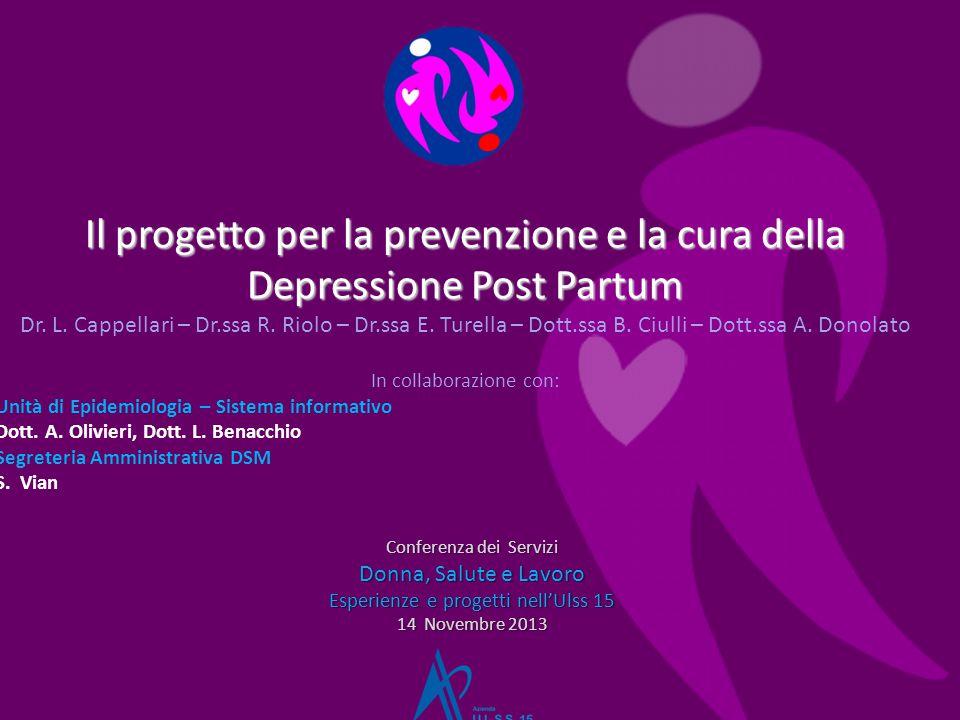 Il progetto per la prevenzione e la cura della Depressione Post Partum