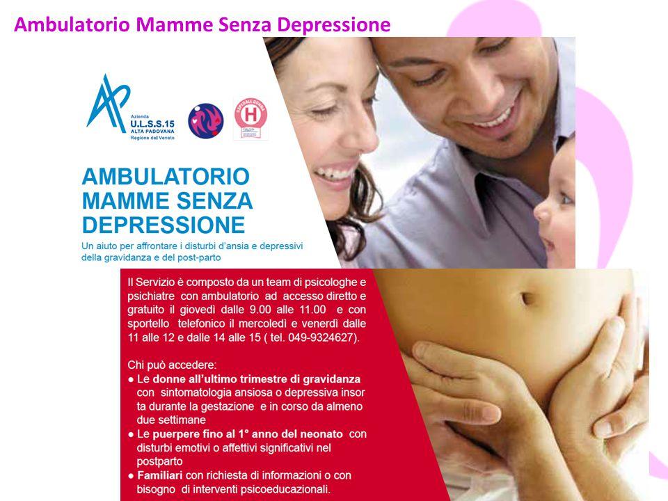 Ambulatorio Mamme Senza Depressione