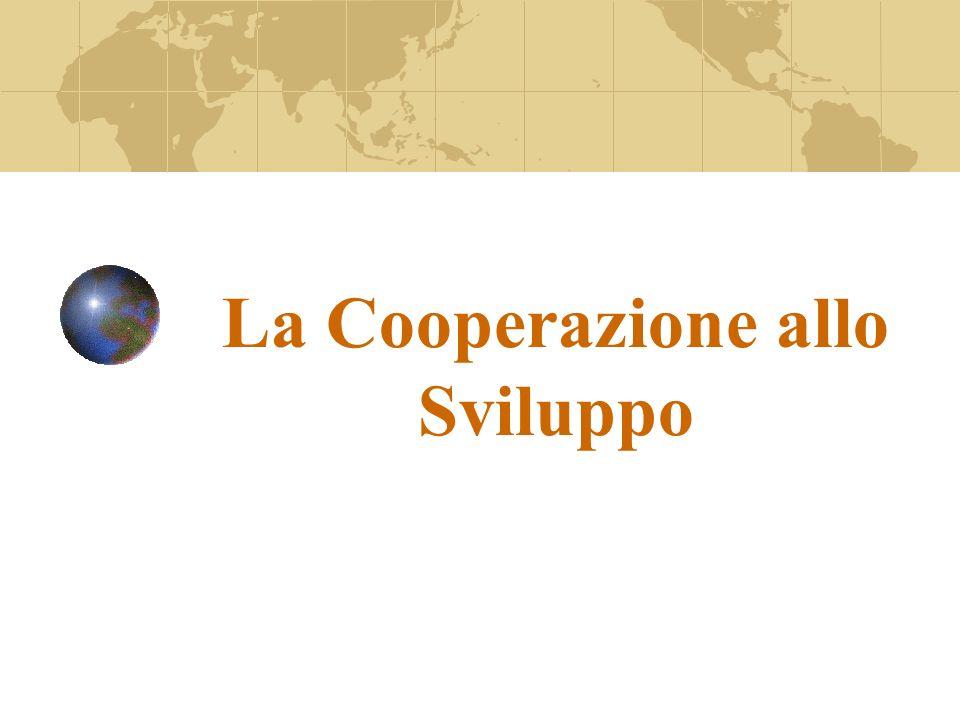 La Cooperazione allo Sviluppo