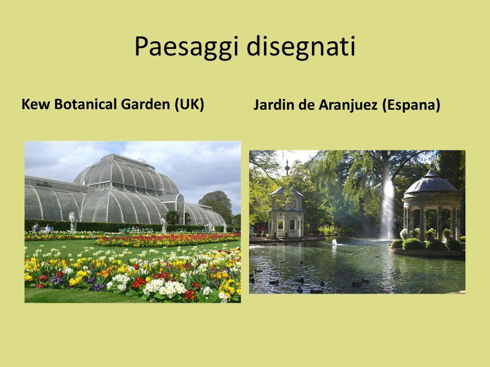 Paesaggi disegnati Kew Botanical Garden (UK)