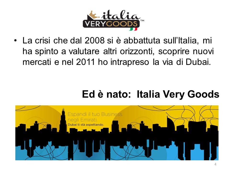 Ed è nato: Italia Very Goods