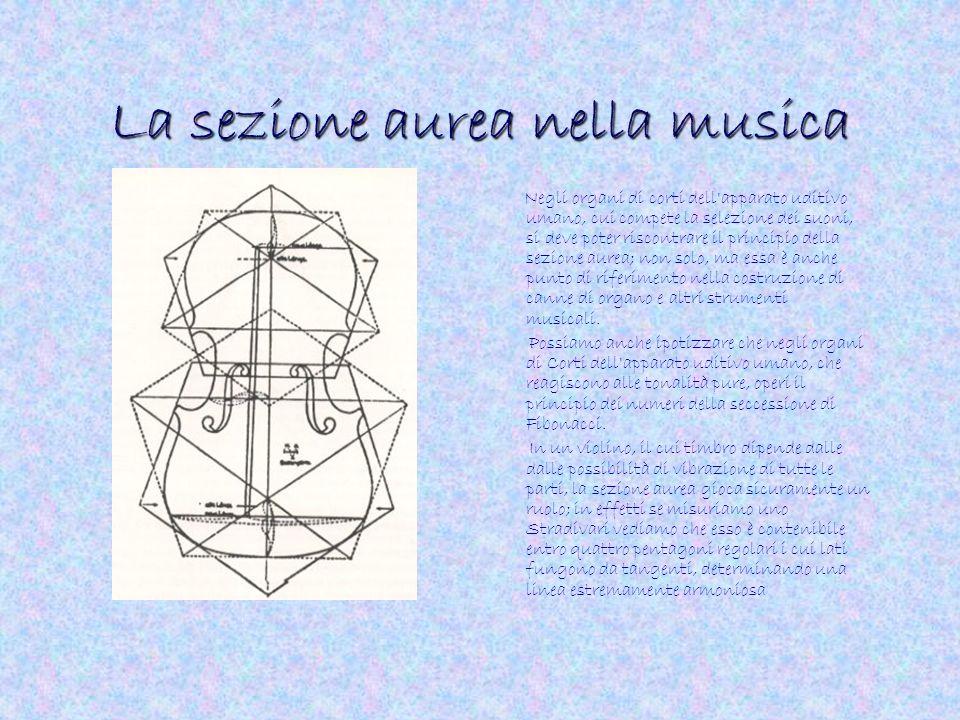 La sezione aurea nella musica