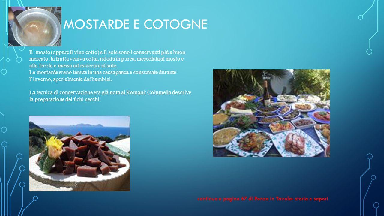 Mostarde e Cotogne