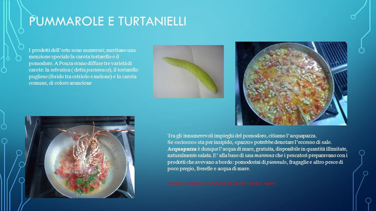 Pummarole e turtanielli