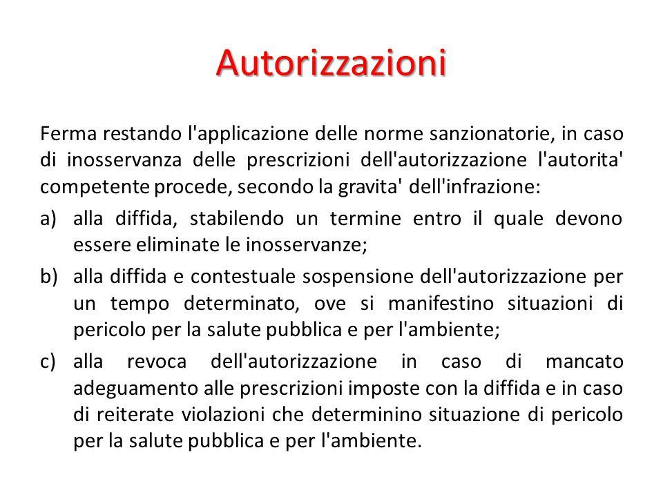 Autorizzazioni