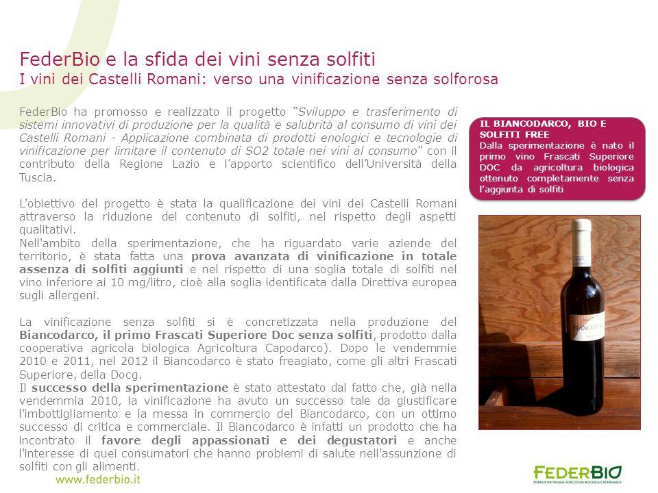 FederBio e la sfida dei vini senza solfiti