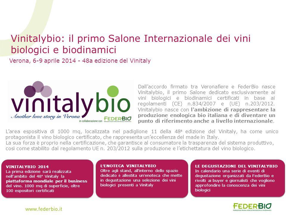 Verona, 6-9 aprile 2014 - 48a edizione del Vinitaly