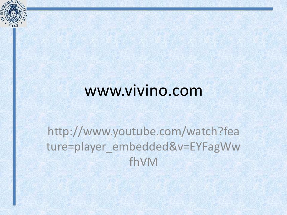 www.vivino.com http://www.youtube.com/watch feature=player_embedded&v=EYFagWwfhVM