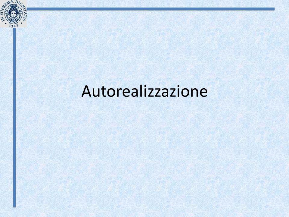 Autorealizzazione