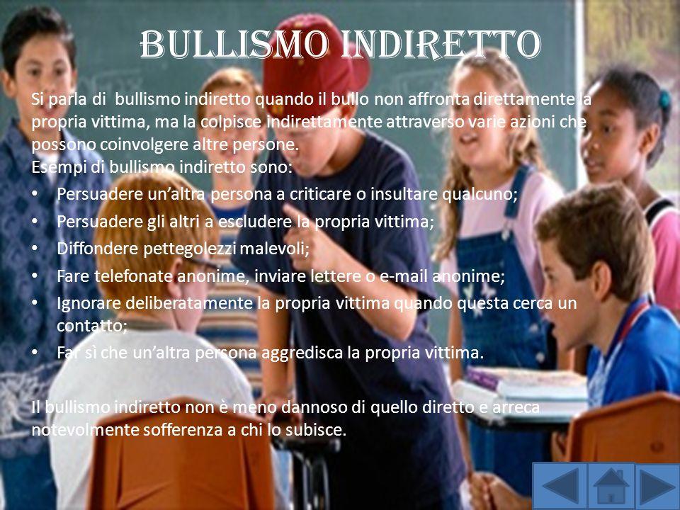 Bullismo indiretto