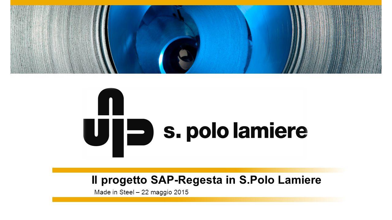Il progetto SAP-Regesta in S.Polo Lamiere