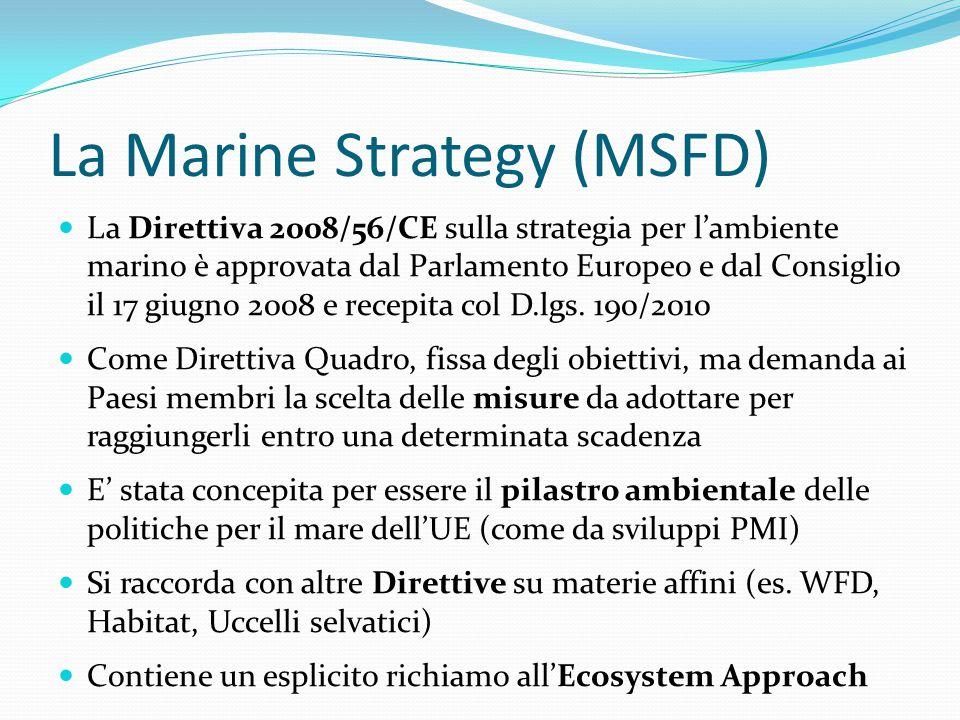La Marine Strategy (MSFD)