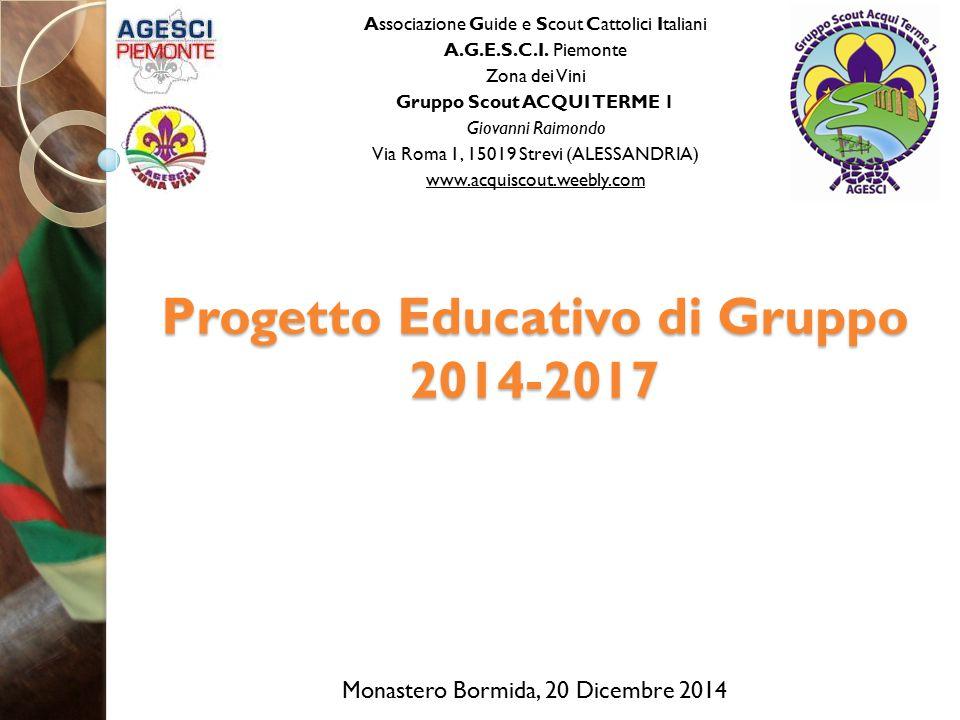 Progetto Educativo di Gruppo 2014-2017