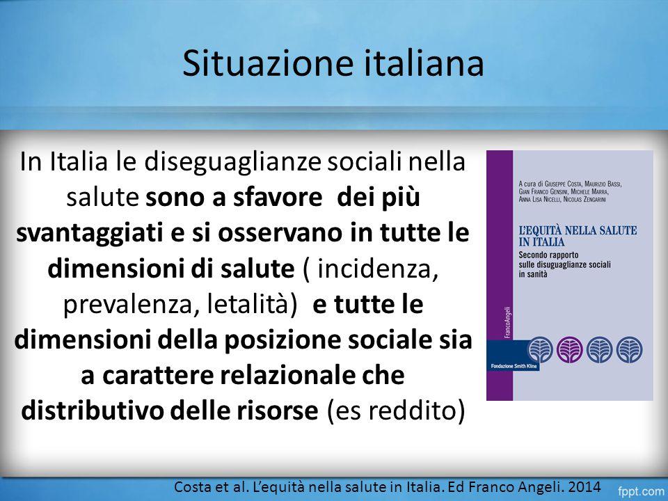 Situazione italiana