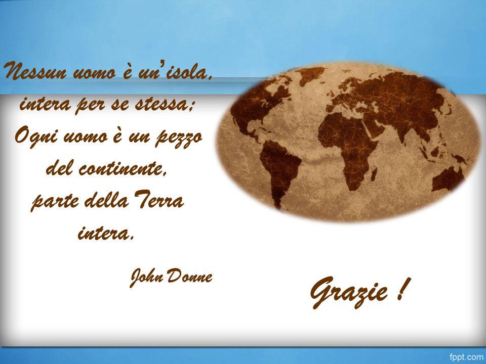 Ogni uomo è un pezzo del continente,