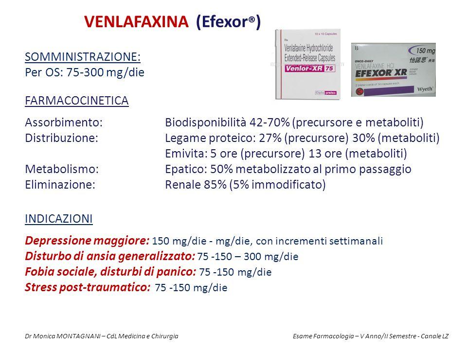 VENLAFAXINA (Efexor®)