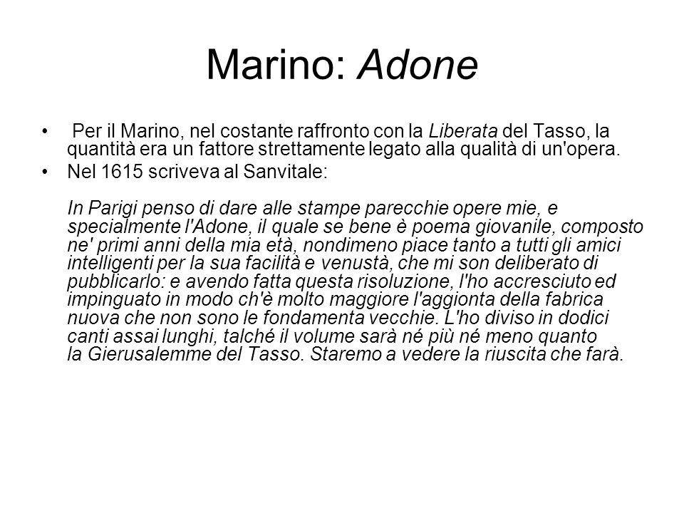 Marino: Adone