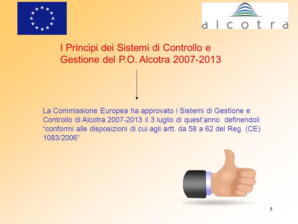 I Principi dei Sistemi di Controllo e Gestione del P. O